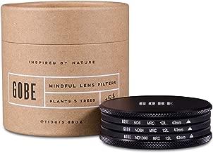Gobe ND Filter Kit 43mm MRC 12-Layer: ND8, ND64, ND1000