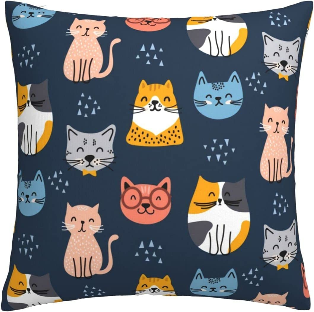 Throw Pillows Covers New Selling rankings item 18 X Awaii B for Kitty Pillowcases Couch