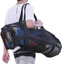 کیسه شیرجه Bulex XL Mesh Diple با زیپ ، تجهیزات دائم مخصوص مسافرت مشبک مخصوص غواصی و تجهیزات غواصی و تجهیزات غواصی - ماسک نگه داشتن کیسه های خشک ، جیب ، اسنورسک [جیب های اضافی زیپ ، سبک و تاشو]