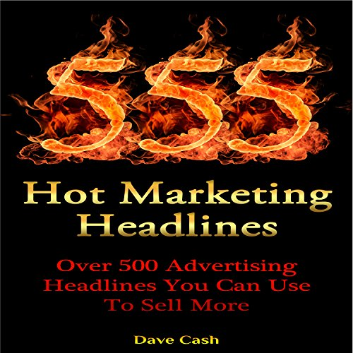 555 Hot Marketing Headlines Titelbild