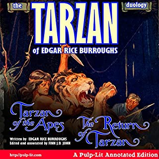 The Tarzan Duology of Edgar Rice Burroughs cover art