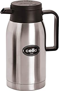 Cello 8901372156079 Livia Stainless Steel Flask, 750 ml, Silver