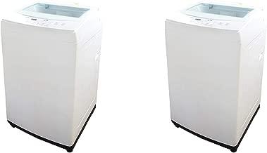 Panda 1.60 Cubic Foot Fully Automatic Portable Laundry Washing Machine (2 Pack)