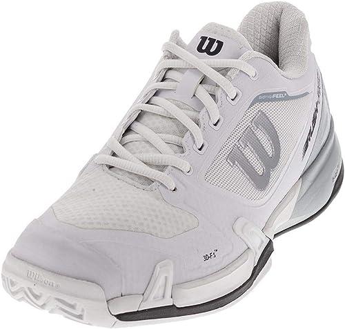 Wilson Men's Rush Pro 2.5 Tennis chaussures (blanc Pearl bleu Iron Gate) (9 D(M) US)