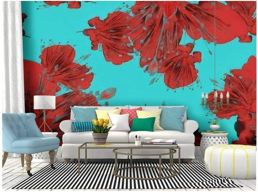 3D Flower A2692 Removable Wallpaper Self Adhesive Wallpaper Extra Large Peel /& Stick Wallpaper Wallpaper Mural AJ WALLPAPERS