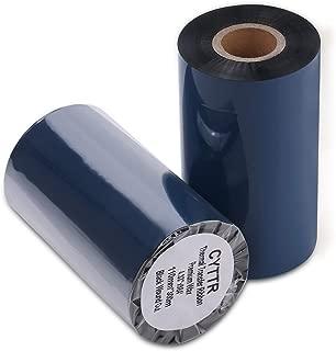 Thermal Transfer Ribbon - Premium Resin-Enhanced Wax - 4.33