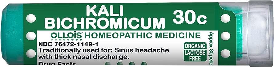 Ollois Organic Lactose Free Kali Bichromicum 30C, Homeopathic Medicines, 80 Pellets Count