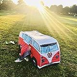 Kinder Pop Up Spielzelte, Kinder Auto Bus Stil Spielhaus Tipi Tragbare Krippe Kinder Outdoor und...