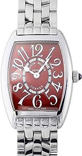 フランク・ミュラー FRANCK MULLER トノウカーベックス 1752B QZ RED CARPET ボルドー文字盤 腕時計 レディース (W211068) [並行輸入品]