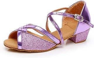 20c6c87706d5b8 Moonuy Chaussures de Danse Filles, Enfants Bébé Filles Princesse Chaussures  De Mode Imprimé Léopard Appartements