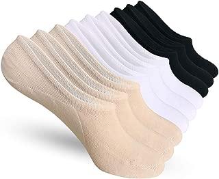 No Show Socks Women 6-9 Pairs Thin Casual Non-Slip Low Cut Flat Liner