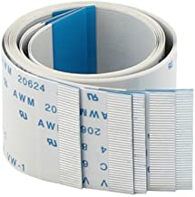 Forward Direction 40 Pin FFC FPC Ribbon Flat Cable 0.5mm x 300mm 5pcs