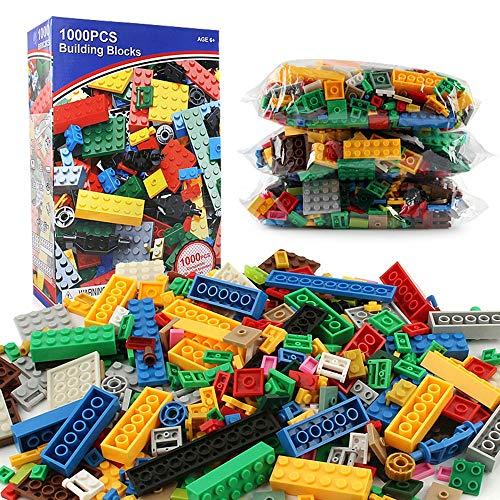 CaoQuanBaiHuoDian Kinder Bausteine  1000 Kinder-Spielzeug Gebäude Der Tasche Fest Anzug Zu Tragen Ist Kompatibel Mit Allen Marken Von Kindersicherheitsmaterial Lernspielzeug (Farbe : Multi-Colored)