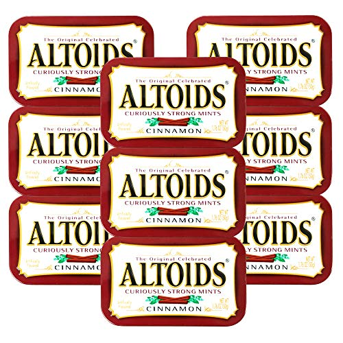ALTOIDS アルトイズ ミントタブレット シナモン 50g×9個セット