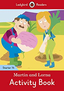 Martin and Lorna Activity Book - Ladybird Readers Starter Level 14