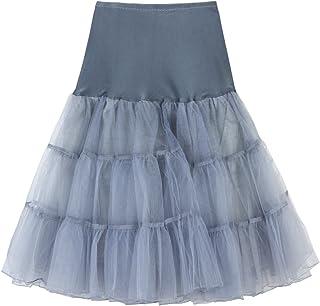 BBring Damen Mini Rock, Frauen Kurz Retro Petticoat Reifrock Faltenrock Tutu Tanzrock Unterrock