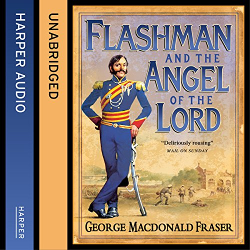 Page de couverture de Flashman and the Angel of the Lord