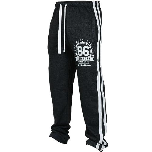 Fuibo Pantalon Homme Clearance De Sport De Survêtement Élastique Printemps  Doux Et Confortable Mode Basique Jogger 8e81ca444a8d