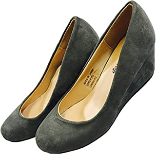 Women's Premium Pump Wedge Bridal Wedding Party Heel Shoes