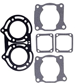 cciyu Cylinder Valve Seat Gasket Head Base Gasket Set Compatible for Yamaha Banshee 350 1987 1988-2006 3GG-11351-02-00