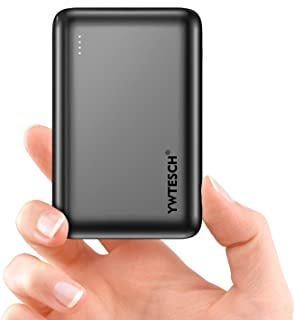 YWTESCH Power Bank 20000mAh, Caricabatterie Portatile in Lega di Alluminio, 2 Uscite USB-A e 1 Ingresso Type-C, Mini Power...