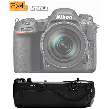 Pixel MB-D17 Empuñadura Batería Grip Power Pack para Nikon D500 ...