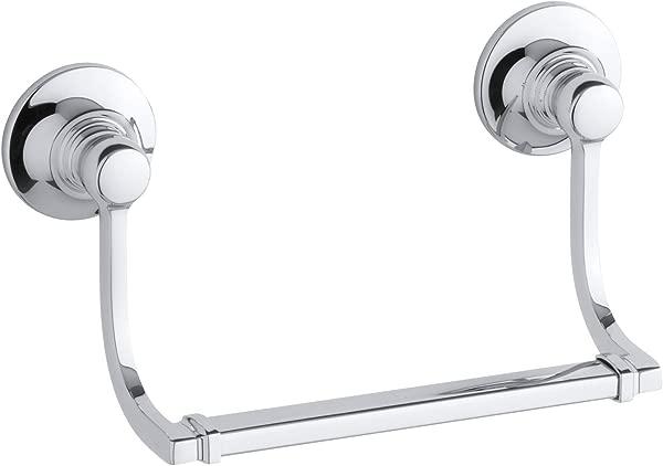 KOHLER K 11416 CP Bancroft Hand Towel Holder Polished Chrome