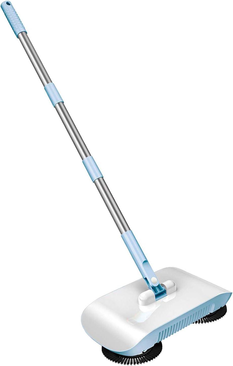LOVIVER Push Power Spinning Broom 3 Floor Sweeper Cleaner Max 42% OFF Vacuum Regular discount