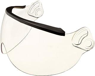 Viseira de capacete Head Pro Tech 2004 transparente de 3 mm com vedação de borracha