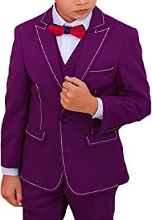 dee1b1efc Amazon.ca  Purple - Suits   Sport Coats   Boys  Clothing   Accessories