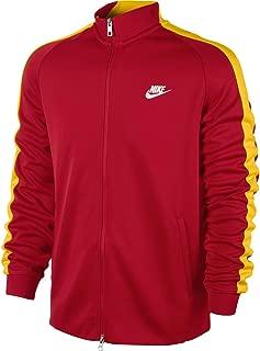 Men's Espana N98 Authentic International Track Jacket, Red, Large