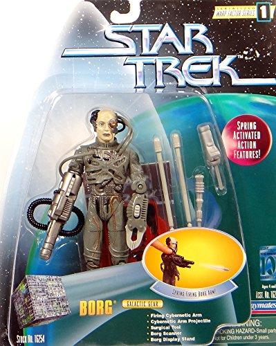 PlayMates Borg with Galactic Gear & Firing Arm - Actionfigur Star Trek Warp Factor Series