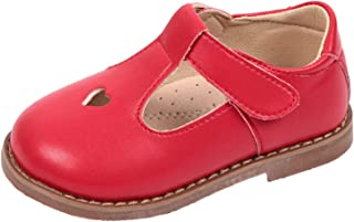 Girls Oxfords Shoes T-Strap Casual Walking School Uniform Dress Princess Mary Jane Flats