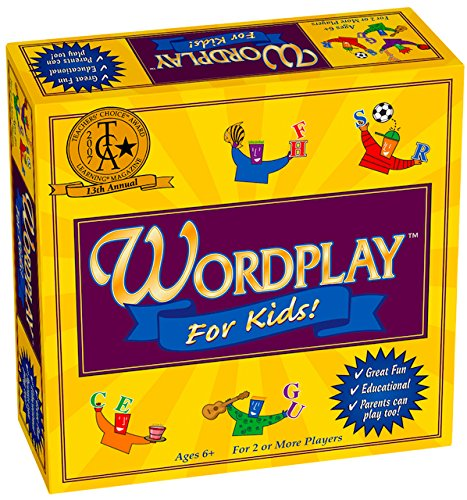 Wordplay for Kids - Board Game for Ages...