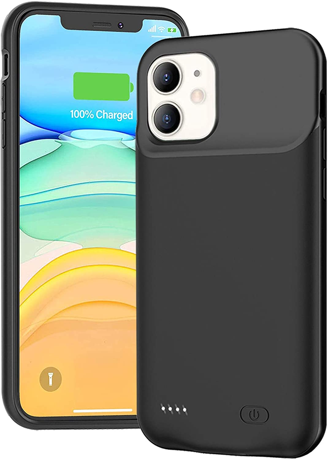 Battery Case Directly managed store Nippon regular agency for iPhone 11 Portable Ultra-Slim 7000mAh Charger