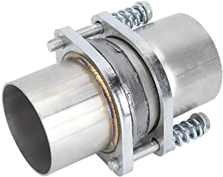 Akozon Universal 3In Quick Fix Exhaust Spring Bolt Flange Stainless Steel Pipe Repair