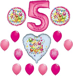 SHOPKINS 5th Fifth BIRTHDAY PARTY Balloons Decorations Supplies