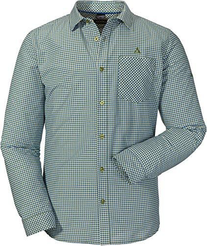 Schöffel Shirt Madeira2 Chemise Homme, Woodbine, FR : XL (Taille Fabricant : 56)