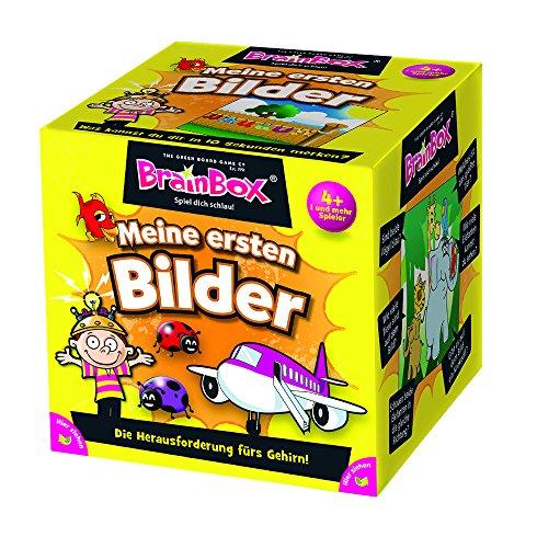 Brain Box 94910 - Lernspiel - Meine ersten Bilder, Spiel Dich schlau - ab 1 Spieler, Dauer Circa 10 Minuten