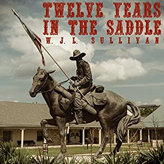 Twelve Years in the Saddle cover art