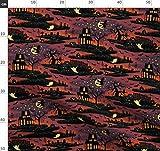 Vintage Halloween, Magisch, Mond Und Sterne, Gespenstisch,