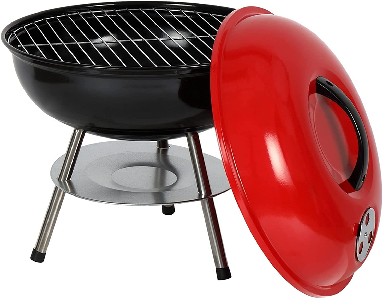 GAMYEA 55% OFF 14-inch Kettle Charcoal Grill Thicken Heavy Trust Portable Duty
