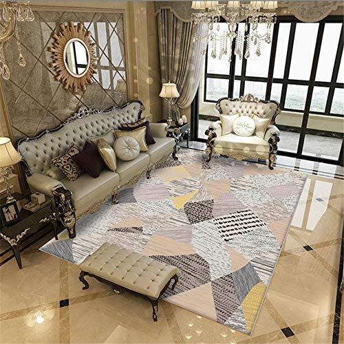 Kunsen Salones mesas Comedor Grandes Las alfombras de la Sala y el Dormitorio Son Antideslizantes y Resistentes a la Suciedad. Alfombra meditacion 80X160CM 2ft 7.5' X5ft 3'