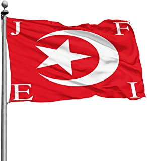 Q10 Home Backyard Garden Flag Nation of Islam 100% Single Layer Polyester Flag (4 X 6 Foot)
