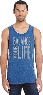 Yoga Tank Top Balance Your Life Triblend Tanktop