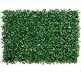 Ilios Innova 50 Piezas Follaje Artificial tamaño 40x60cm Decoracion Casa Hogar Jardin Interiores Exteriores Verde Decoración Vertical (Jardín)