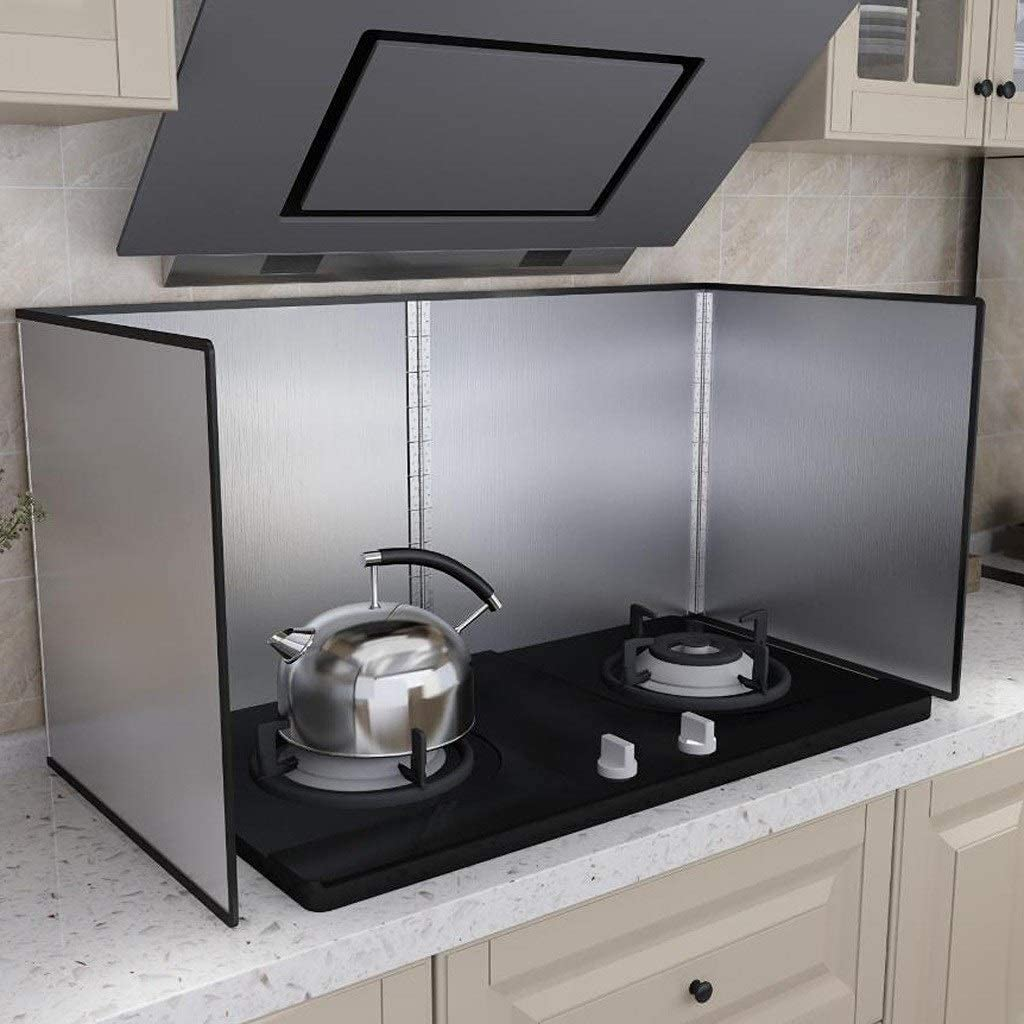 Ranking TOP20 BCHDREUU0819 New life Splatter Guard Stove Insulation Stainles Heat Sheet