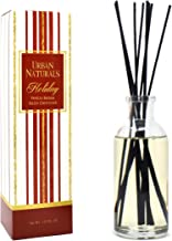 Urban Naturals Holiday Vanilla Balsam Scented Reed Oil Diffuser | Pine Essential Oil Blend | Fragrant Pine, Aromatic Balsa...