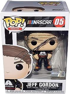 AUTOGRAPHED 2019 Jeff Gordon #24 Axalta Racing NASCAR FUNKO POP (Hendrick Motorsports) Signed Collectible Official Vinyl Figure/Figurine with COA