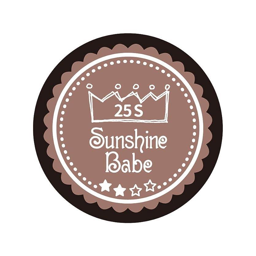 啓示ページェントテレックスSunshine Babe コスメティックカラー 25S ミルキーココア 4g UV/LED対応